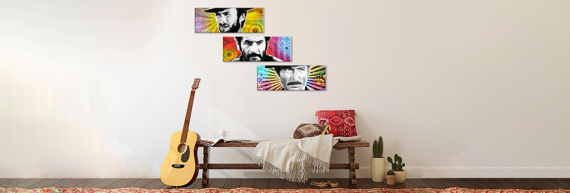 3 Horizontal multi panel Art Board