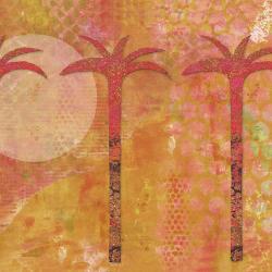 Palm Trees Orange