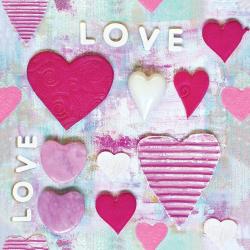 Pink hearts Master