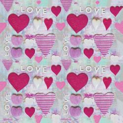 Pink hearts Sample