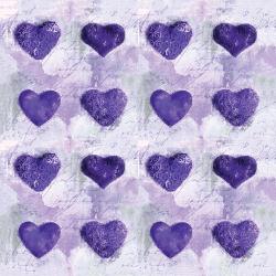 Purple hearts Sample