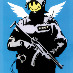 Flying policeman
