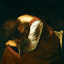 Death of the virgin (detail)