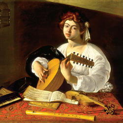 Lute player 2