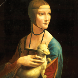 Lady with Ermine 2