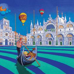San Marco with hot air balloon