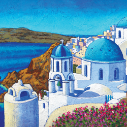 Santorini glimpse