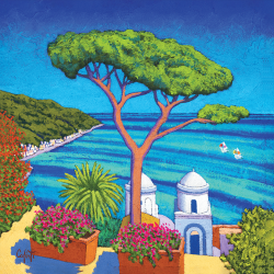 Seascape with tree