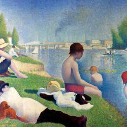 Bathing in Asnières