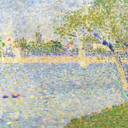 The Seine seen from the Grande Jatte