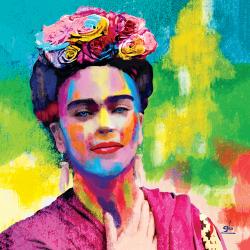 Abstract Self-portrait Frida