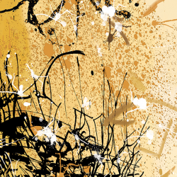 Autumn Rhythm Tribute to Pollock
