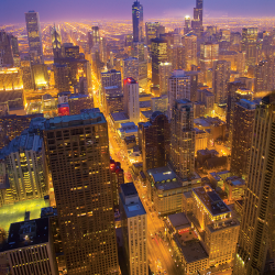 Chicago from the 94th floor