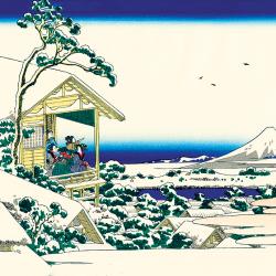 The morning after the snow at Koishikawa in Edo