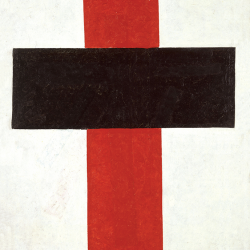 Black red cross