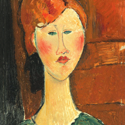 Red-haired woman Red-haired woman