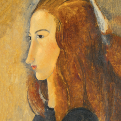 Profile of red-haired girl