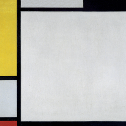 Composition n. 13 in Red Yellow and Blue