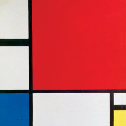 Composition n. 2 in Red, Blue and Yellow