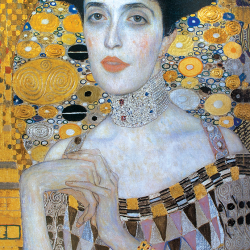Close-up of Adele Bloch-Bauer