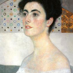 Close-up of Margaret Stonborough
