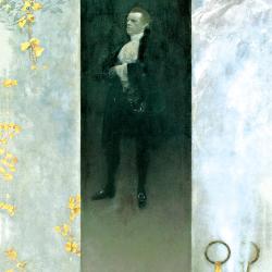Portrait of the actor Josef Lewinsky