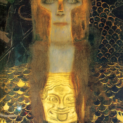 Close-up of Pallas Athena