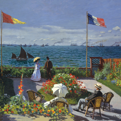 Garden in Sainte Adresse