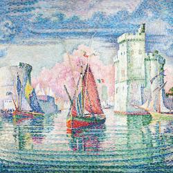 Ingresso del porto di la Rochelle