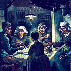 The potato eaters 2