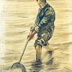 Shell fisherman