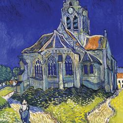 Auvers sur Oise church (front)