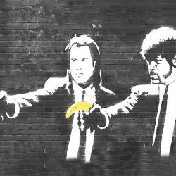 Jhon Travolta with Banana