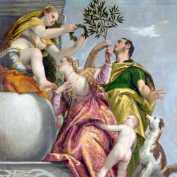 Allegory of contempt for happy union