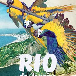 Rio de Janeiro Travel Poster