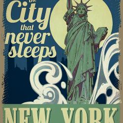 Travel Poster New York