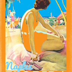 Naples Florida Travel Poster