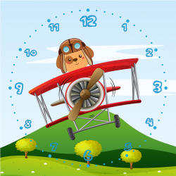 Captain Doggie aviator