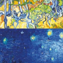 Collage de Van Gogh 3