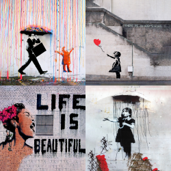 Banksy's most beautiful works - Collection 1