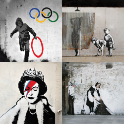 Banksy's most beautiful works - Collection 3