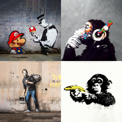 Banksy's most beautiful works - Collection 4