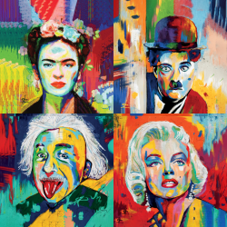 Famous People - Collection 1