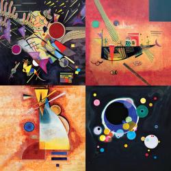 Les plus belles œuvres de Kandinsky - Collection 2