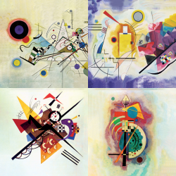 Les plus belles œuvres de Kandinsky - Collection 1