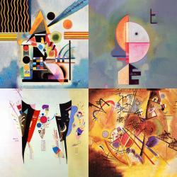 Les plus belles œuvres de Kandinsky - Collection 3