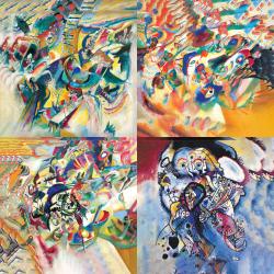 Les plus belles œuvres de Kandinsky - Collection 4