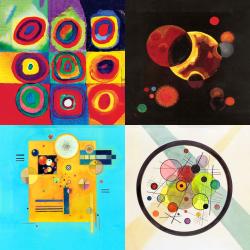 Les plus belles œuvres de Kandinsky - Collection 5