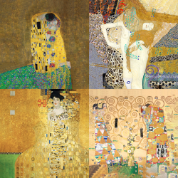 Klimt's most beautiful works - Collection 1