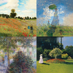 Monet's most beautiful works - Collection 1
